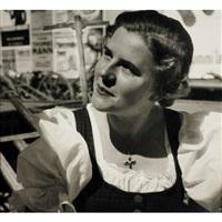 paula wessely, salzburger festspiele by trude fleischmann