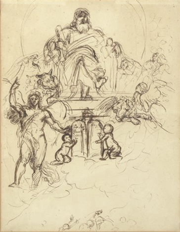 the judgement of solomon study by benjamin robert haydon