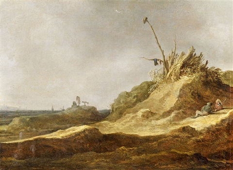 the sand dunes by jan josefsz van goyen