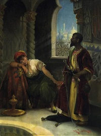 othello und desdemona by a. lerch
