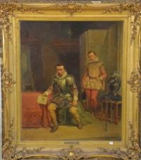 scène historique by gustave (egidius karel g.) wappers
