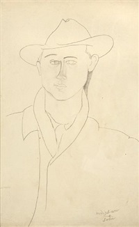 léon solà by amedeo modigliani