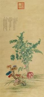 瑞蔬图 by jiang tingxi