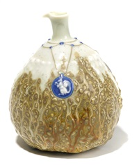 gourd-form vase by taxile doat