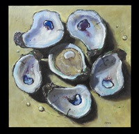 one oyster six shells by billy solitario