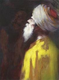 bildnis eines betenden mullahs by konrad filip