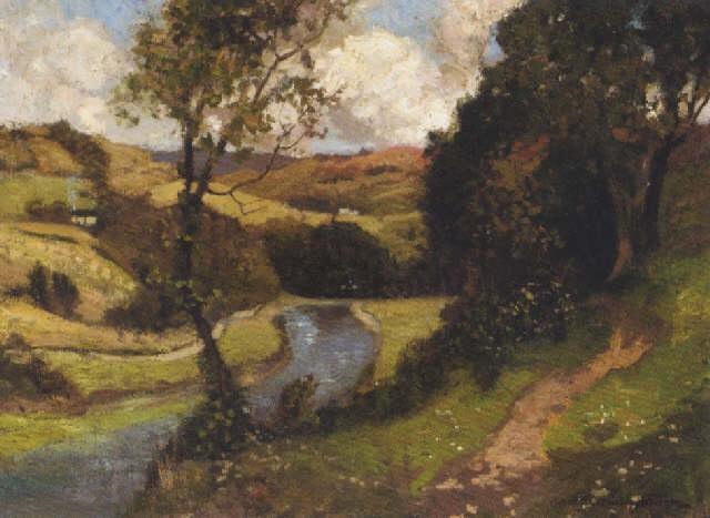 pastoral landscape by robert macaulay stevenson