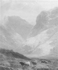 glen lean, argylshire by william davies