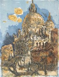 santa maria della salute in venedig by christian kruck