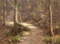 woods trail by clifton a. wheeler