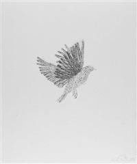 moth, bat, bee, bird, fly, squirrel (6 works) by kiki smith
