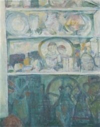 shelves in the pantry by hermann koller