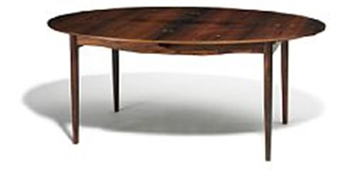 judas table dining table with two extension leaves by finn juhl