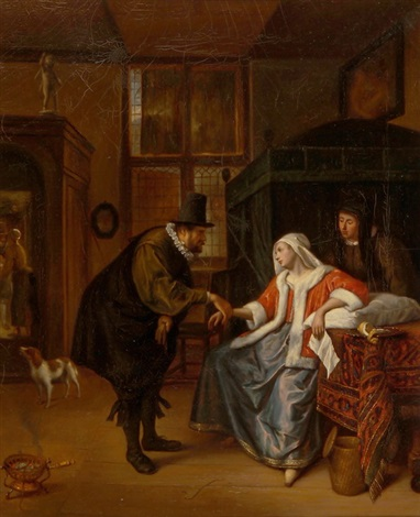 die liebeskranke by jan steen