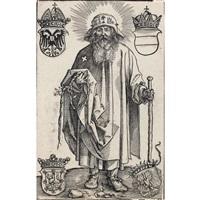 der heilige koloman (johannes stabius als st. koloman) by albrecht dürer