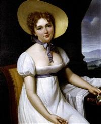 portrait of mlle. duvalier by francois henri mulard