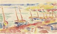 bateaux à collioure by henri matisse