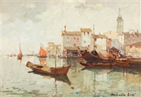 venezia presso san nicola by umberto levi