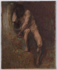 adam (study) by alexandre cabanel