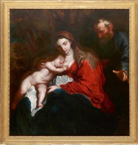 die heilige familie by sir anthony van dyck