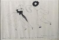 la carnaval de schumann, paris opera 1910 - ballet russes de serge de diaghilev by sergei pavlovich diaghilev