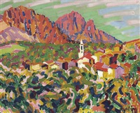 le matin, corse by auguste herbin