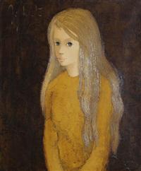 portrait de jeune fille by jef wauters