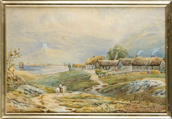 schottisches fischerdorf by john white alexander