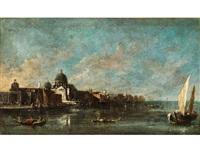 venedig - blick vom canal grande auf santa maria della salute by francesco guardi