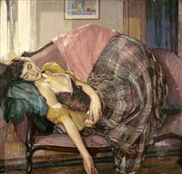 the plaid skirt by richard edward miller