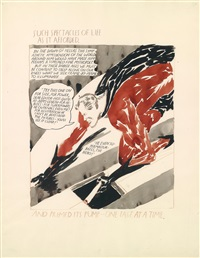 such spectacles of life as it afforded by raymond pettibon