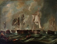 the battle of trafalgar by richard b. spencer