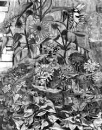 bunter blumengarten by werner weber