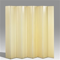 nine-panel folding screen by kartell