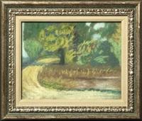 southern landscapes (irgr, set of 3) by charles woodward hutson
