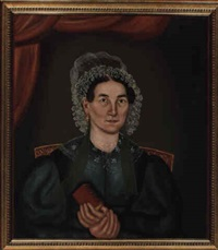 a portrait of jane gibbs of buxton, maine by royall brewster smith