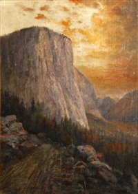el capitan, yosemite by william h. hillard