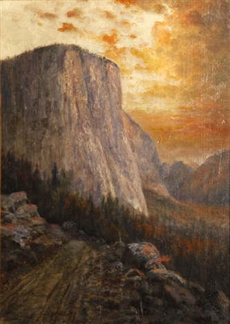 el capitan yosemite by william h hillard