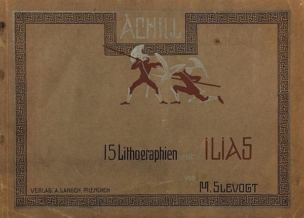 achill (bk w/15 works) by max slevogt