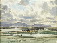clouds over hoy from hanay orkney by claude muncaster