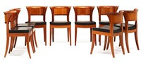 sella magna armchairs and sella media side chairs (set of 10) by leon krier
