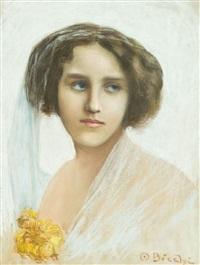 figura di donna by ottorino bicchi
