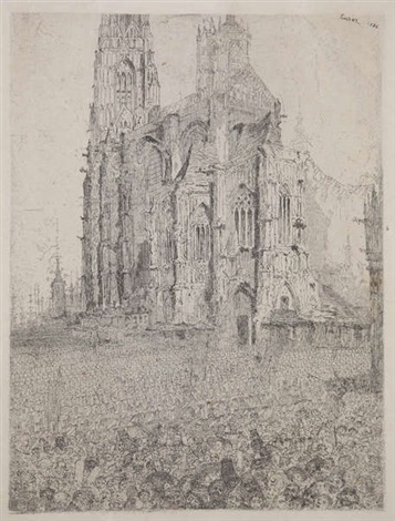 untitled by james ensor