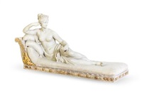 pauline borghese reclining on a chaise by antonio canova