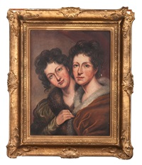 portrait of eleanor and rosalba peale by anna peale sellers