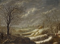 winterlandschaft by daniel van heil