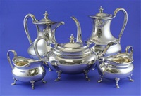 tea and coffee set (set of 5) by atkin brothers