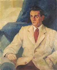 portrait of a gentleman by leon kroll