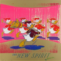 the new spirit (donald duck), from ads by andy warhol