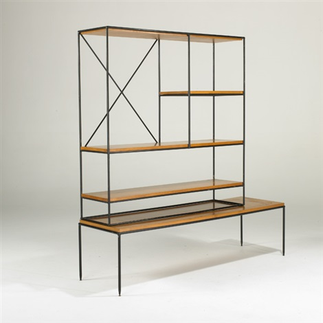 planner group two part room divider by paul mccobb